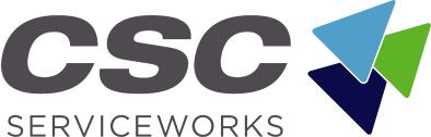 CSC Text logo